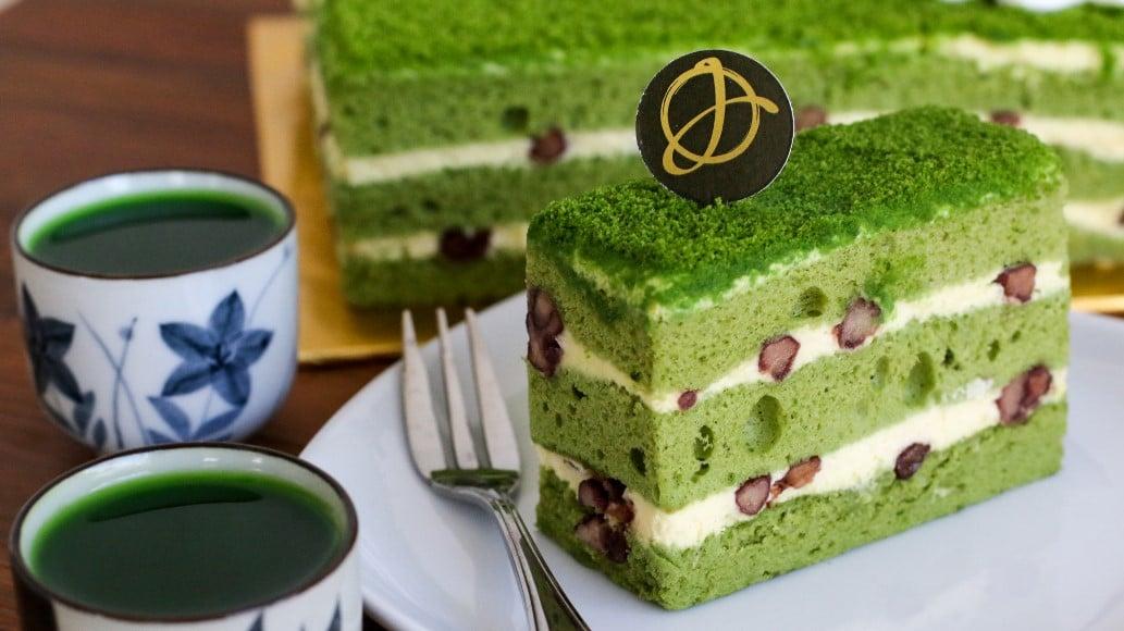 Matcha Cake Sponge