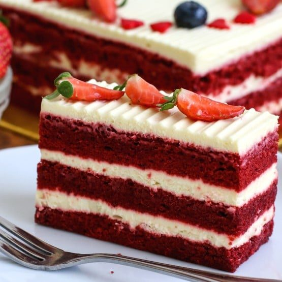 Red Velvet Cake Vibrant and Delicious Free Delivery