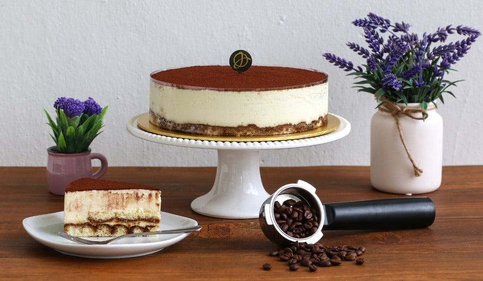 Tiramisu Cake Italian Mascaporne Cheese Free Delivery