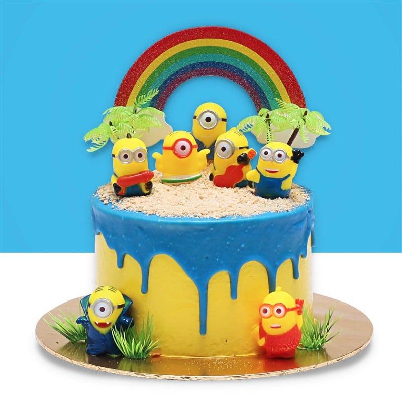 Minion Design Cake