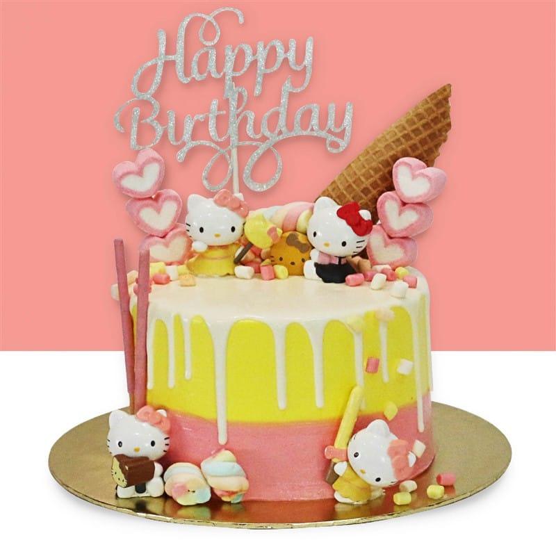 Hello Kitty Design Cake Junandus